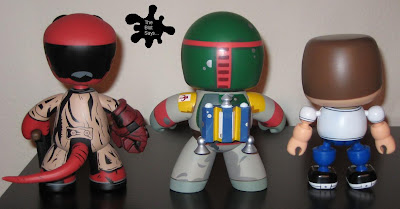 Mighty Muggs vs. Mez-Itz vs. Mallow Vinyl Figures Back View