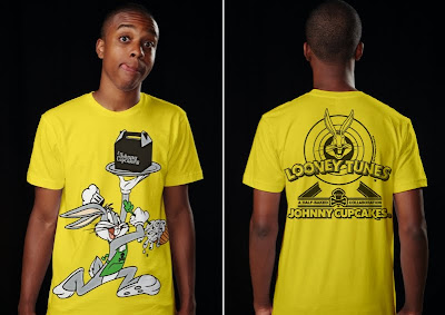 Johnny Cupcakes x Warner Bros. Looney Toons T-Shirts - Bakery Bugs Bunny T-Shirt