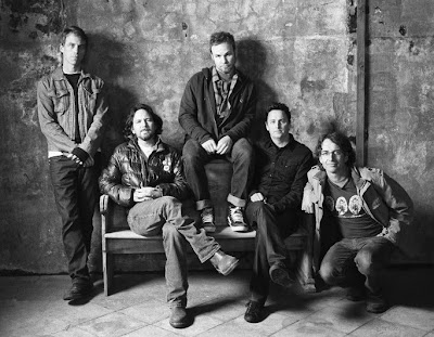 2009 Pearl Jam Black and White Photo