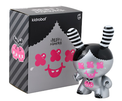 Kidrobot - Buff Monster 8 Inch Dunny and Packaging