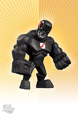 DC Direct Uni-Formz Vinyl Figures - Black Flash Colorway