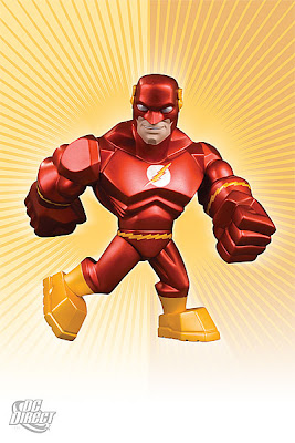 DC Direct Uni-Formz Vinyl Figures - The Flash Colorway