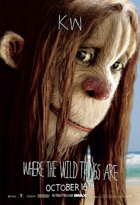 Where The Wild Things Are Promo Character Movie Posters - Lauren Ambrose as KW