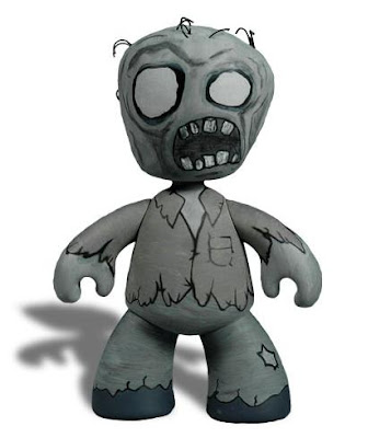 Mezco Toyz - Zombie Mez-Itz Limited Edition Black and White Variant