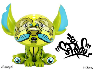 Disney x MINDstyle Stitch Experiment 626 Artist Series 2 - Scribe Stitch