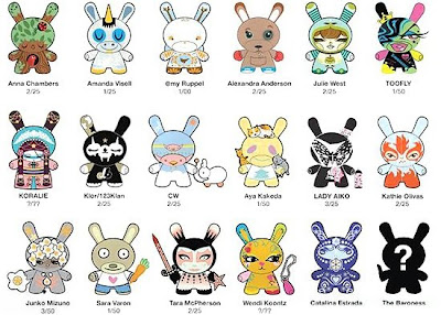 Kidrobot - Femme Fatale 3 Inch Dunny Series Checklist and Ratios
