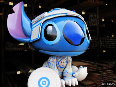MINDstyle x Disney Tron Stitch Vinyl Figure by Scott Zillner
