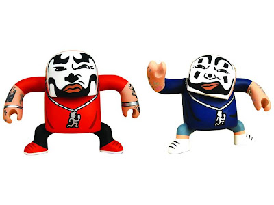 NECA Insane Clown Posse BATSU Vinyl Figure Set featuring Shaggy 2 Dope & Violent J