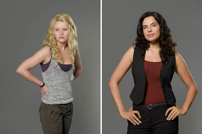 Lost The Final Season - Emilie de Ravin as Claire Littleton & Zuleikha Robinson as Ilana