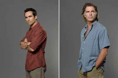 Lost The Final Season - Nestor Carbonell as Richard Alpert & Jeff Fahey as Frank Lapidus