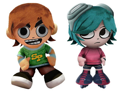 Scott Pilgrim & Ramona Flowers 8 Inch Plush Figure Set by Mezco Toyz