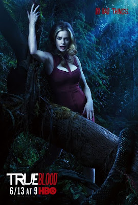 True Blood Season 3 Character Television Posters - Kristin Bauer as Pam