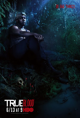 True Blood Season 3 Character Television Posters - Nelsan Ellis as Lafayette Reynolds
