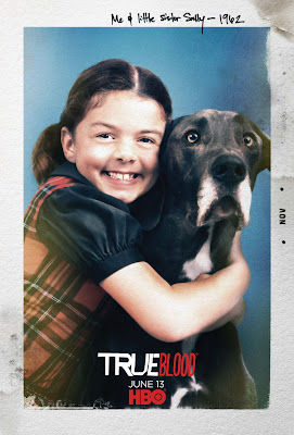 True Blood Season 3 One Sheet Television Teaser Poster - Me & Little Sister Sally - 1962