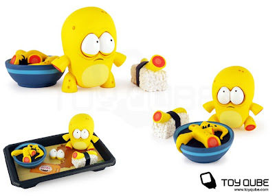 ToyQube Exclusive Yellow O-No Sushi by Andrew Bell