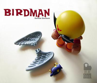 Birdman 40° Custom Celsius Vinyl Figure by Chauskoskis