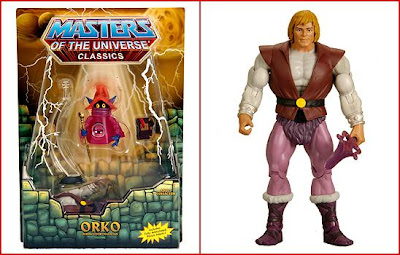 San Diego Comic-Con 2010 Exclusive Masters of the Universe Orko Action Figure with Prince Adam Action Figure