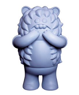 San Diego Comic-Con 2010 Exclusive Super7 x Le Merde Burger Buns Vinyl Figure