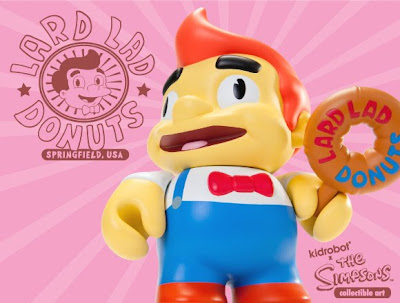 Kidrobot x The Simpsons Lard Lad Vinyl Figure