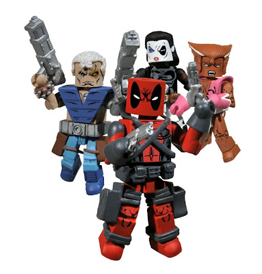 San Diego Comic-Con 2010 Exclusive Rob Liefeld's X-Force Minimates Boxed Set from Action Figure Xpress