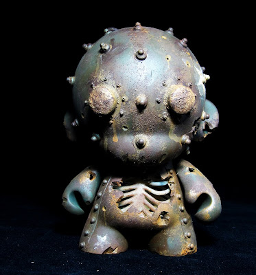 San Diego Comic-Con 2010 Exclusive Custom Munny by Drilone