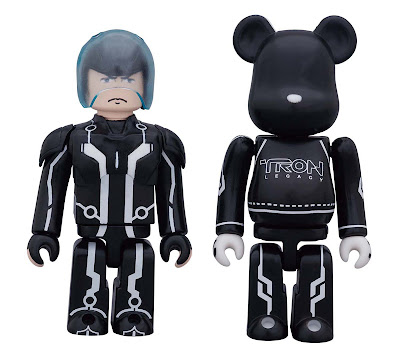 Disney x Medicom TRON Legacy Kubrick & Be@rbrick Set 1 - Sam & Sam's Lightcycle