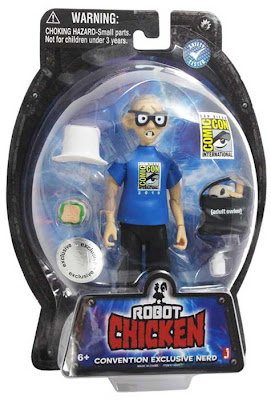 San Diego Comic-Con 2010 Exclusive Robot Chicken Convention Nerd Action Figure in Packaging