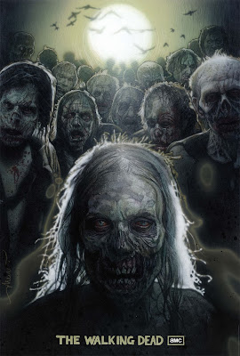 The Walking Dead Season 1 Teaser One Sheet Television Poster by Drew Struzan