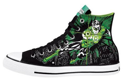 DC Comics x Converse All Star Hi Green Lantern Sneakers