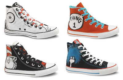 Converse Dr. Seuss Sneaker Collection - Dr. Seuss High Top Chuck Tyalor All Star Sneakers