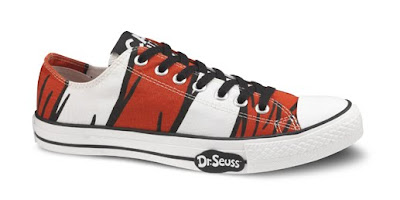 Converse Dr. Seuss Sneaker Collection - Dr. Seuss Low Top Chuck Tyalor All Star Sneakers