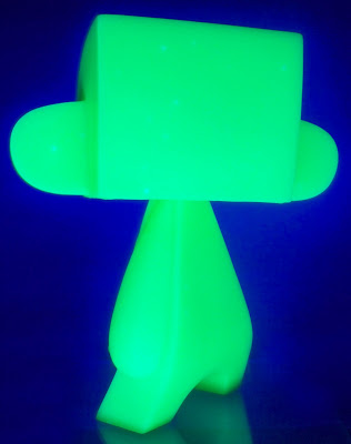 Glow in the Dark Green Do It Yourself 10 Inch Blank Mad'l by MAD
