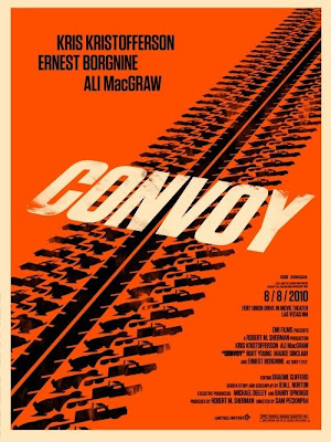 2010 Rolling Roadshow Screen Print Series - Convoy by Olly Moss