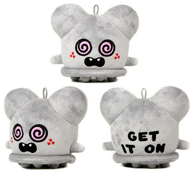 Neon Monster Exclusive 5 Inch Grey Get It On Buff Monster Plush Figure