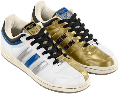 Star Wars x adidas Originals Fall/Winter 2010 Collection - R2-D2 and C-3PO Droids Top Ten Low Sneakers
