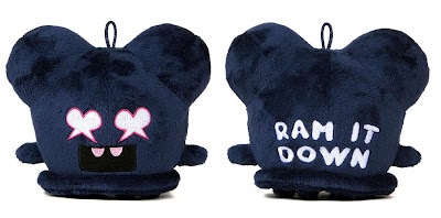 Rotofugi Exclusive 5 Inch Navy Blue Ram It Down Buff Monster Plush Figure