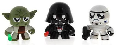 Star Wars Mini Mighty Muggs The Empire Strikes Back 3-Pack - Yoda, Darth Vader & Stormtrooper