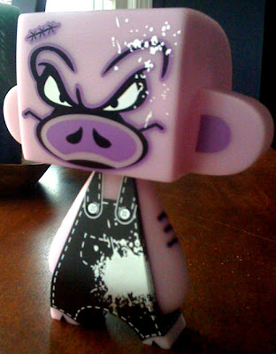 Wizard Sleeve Toys Exclusive Glow in the Dark Bacon Mad'l by Sket-One