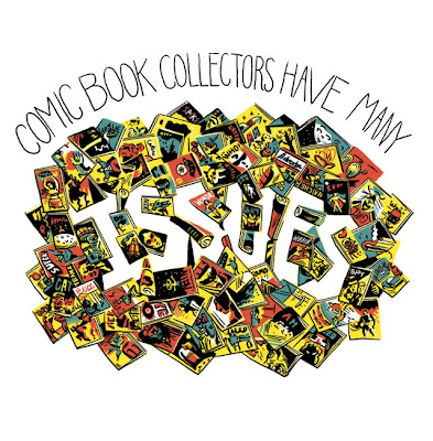 Threadless - Comic Book Collectors Have Many Issues by Nestor G Gomez