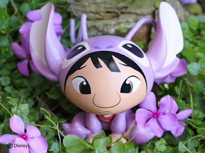 MINDstyle x Disney Lilo Cosplay Angel ATC Vinyl Figure by Jenny Chung