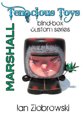 Tenacious Toys Marshall Blind Box Custom Series - Nuggs Marshall by Ian Ziobrowski