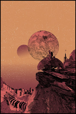 Mondo Star Wars Screen Print Series #6 - Dawn of Tatooine by Shan Jiang