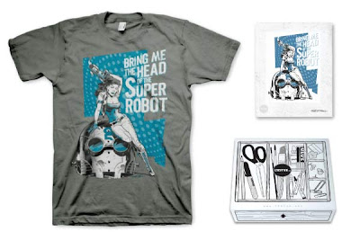 "LTD Tee x Jet City Comic Show ""Head of the Giant Robot"" T-Shirt & Print by Shane White"