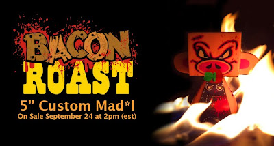 Custom Bacon Roast (Crispy Version) Mad'l Banner by Sket-One