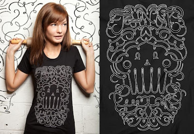 Johnny Cupcakes - Swirlyque T-Shirt