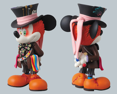 Disney x Medicom Mickey Mouse as The Mad Hatter Vinyl Figure
