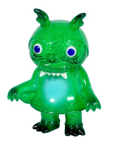 Super7 - Clear Glitter Green Steven the Bat by Bwana Spoons