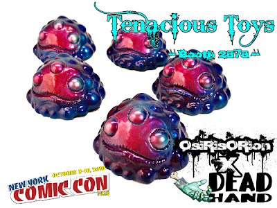New York Comic-Con 2010 Exclusive OsiRisORion x Dead Hand Toys Custom Metallic Nightshade Gread Resin Figures