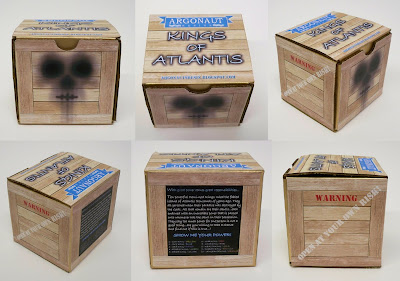 Kings of Atlantis Resin Figures by Argonaut Resins Packaging