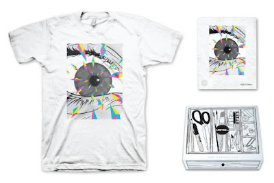LTD Tee - Mind Fragments T-Shirt & Art Print Box Set by USPO